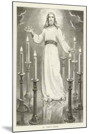 St John's Vision--Mounted Giclee Print