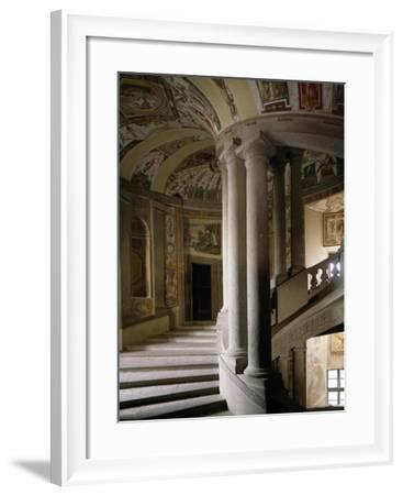 Scala Regia--Framed Giclee Print