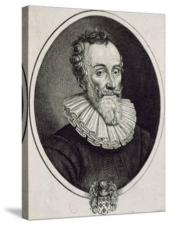 Portrait of Francois De Malherbe--Stretched Canvas Print