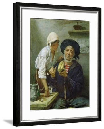 Grandad's Mate-Lawrence Duncan-Framed Giclee Print