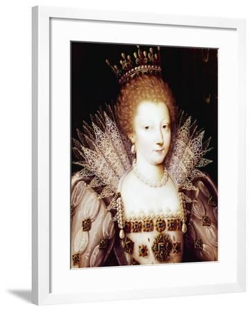 Portrait of Louise Marguerite of Lorraine--Framed Giclee Print