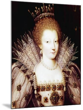 Portrait of Louise Marguerite of Lorraine--Mounted Giclee Print