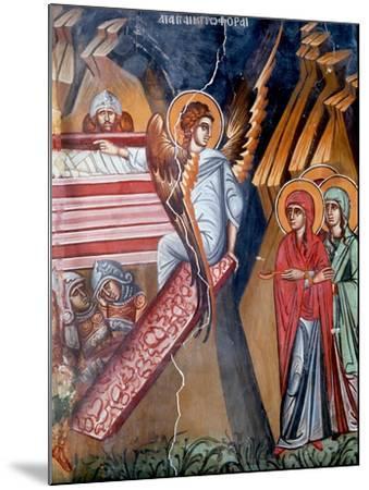 The Empty Tomb, Cretan School--Mounted Giclee Print