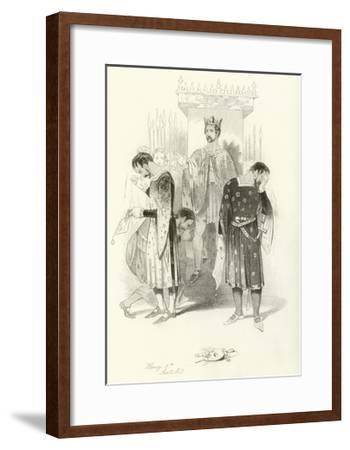 Henry V, Part 2-Joseph Kenny Meadows-Framed Giclee Print