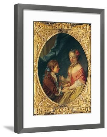 Mother and Child-Francois Boucher-Framed Giclee Print
