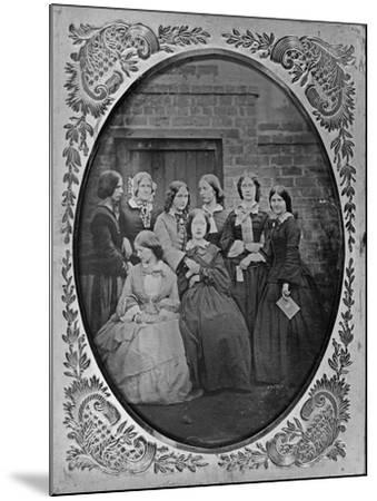 Group Portrait, C.1857-Augusta Crofton-Mounted Giclee Print