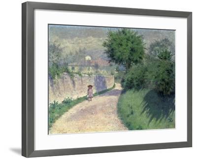 Settignano Laneway-Alfonso Testi-Framed Giclee Print
