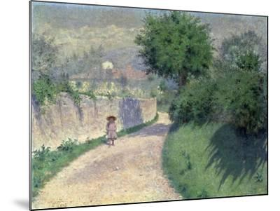 Settignano Laneway-Alfonso Testi-Mounted Giclee Print