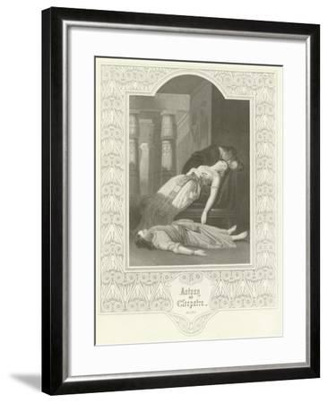 Antony and Cleopatra, Act V, Scene II-Joseph Kenny Meadows-Framed Giclee Print