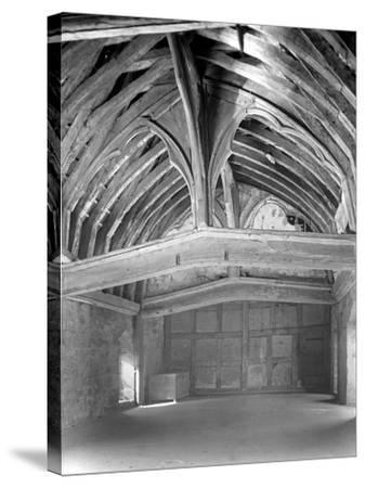 The Great Hall, Brinsop Court-Frederick Henry Evans-Stretched Canvas Print