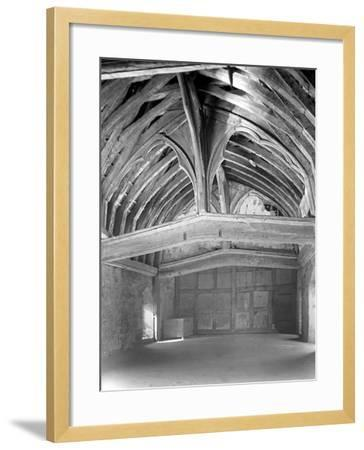 The Great Hall, Brinsop Court-Frederick Henry Evans-Framed Photographic Print