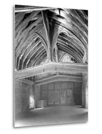 The Great Hall, Brinsop Court-Frederick Henry Evans-Metal Print
