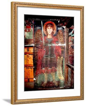 The Archangel Michael--Framed Giclee Print