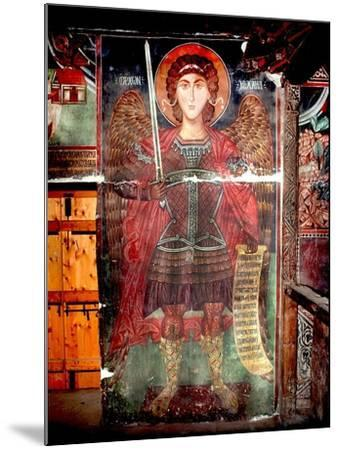 The Archangel Michael--Mounted Giclee Print