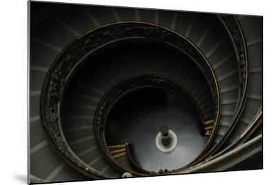 Spiral Stairs-Giuseppe Momo-Mounted Giclee Print