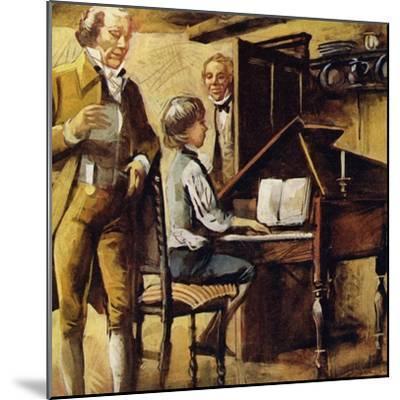 Schubert Was Born in Vienna in 1797--Mounted Giclee Print