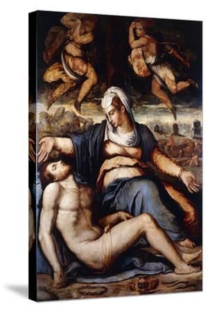 The Pieta, C.1542-Giorgio Vasari-Stretched Canvas Print