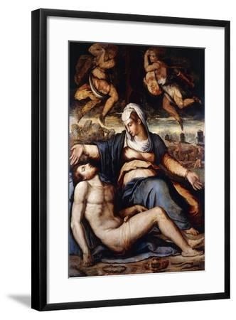 The Pieta, C.1542-Giorgio Vasari-Framed Giclee Print