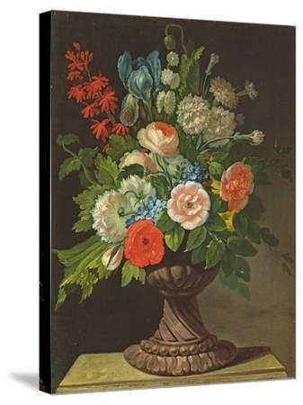 Still Life with Flowers-Jens Juel-Stretched Canvas Print