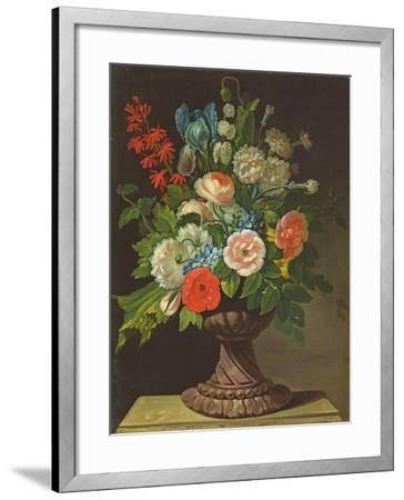 Still Life with Flowers-Jens Juel-Framed Giclee Print
