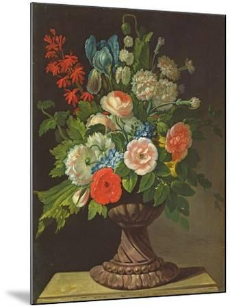 Still Life with Flowers-Jens Juel-Mounted Giclee Print