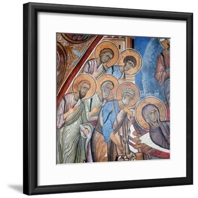 The Apostles Mourning the Virgin, 1192--Framed Giclee Print