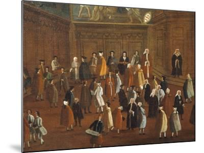 The Hall of the Compass-Gabriel Bella-Mounted Giclee Print