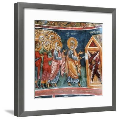 St Peter Opening the Gates of Paradise--Framed Giclee Print