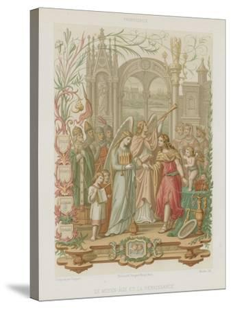The Middle Ages and the Renaissance--Stretched Canvas Print