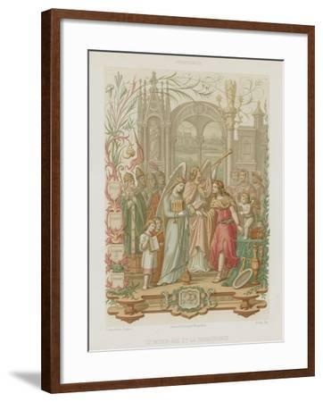 The Middle Ages and the Renaissance--Framed Giclee Print