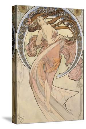 La Danse, 1898-Alphonse Mucha-Stretched Canvas Print