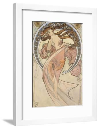 La Danse, 1898-Alphonse Mucha-Framed Giclee Print