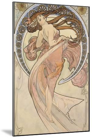 La Danse, 1898-Alphonse Mucha-Mounted Giclee Print