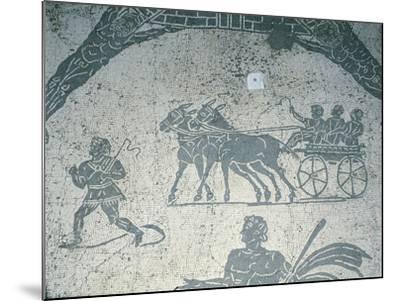 Italy, Rome, Ostia Antica--Mounted Giclee Print