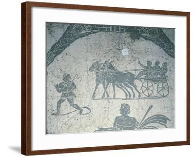 Italy, Rome, Ostia Antica--Framed Giclee Print