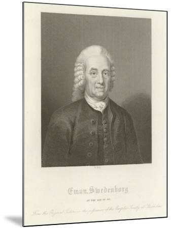 Emmanuel Swedenborg--Mounted Giclee Print
