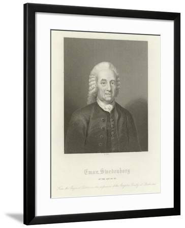Emmanuel Swedenborg--Framed Giclee Print
