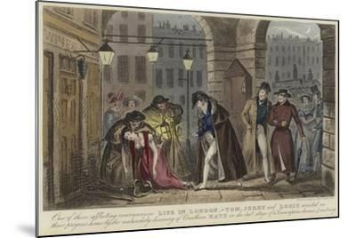 Life in London-Isaac Robert Cruikshank-Mounted Giclee Print