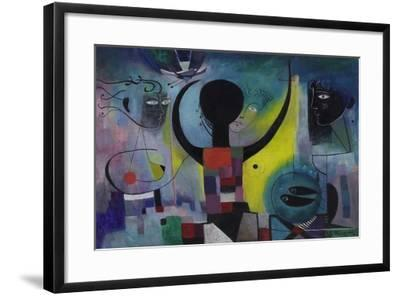 The Magic Mirror, 1955-Anneliese Everts-Framed Giclee Print