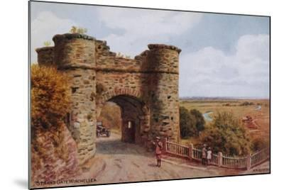 Strand Gate, Winchelsea-Alfred Robert Quinton-Mounted Giclee Print