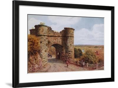 Strand Gate, Winchelsea-Alfred Robert Quinton-Framed Giclee Print