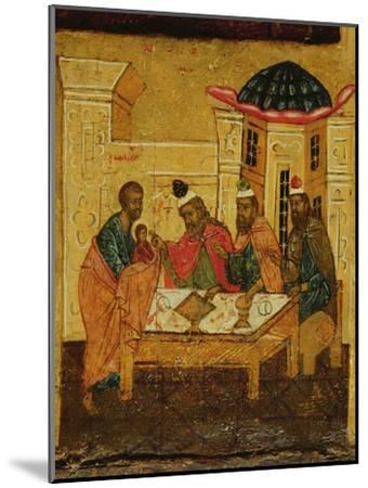 Icon Depicting the Adoration of the Maji, C.1550--Mounted Giclee Print