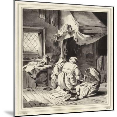 Domestic Scene-Cornelis Bega-Mounted Giclee Print