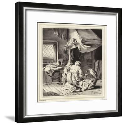 Domestic Scene-Cornelis Bega-Framed Giclee Print