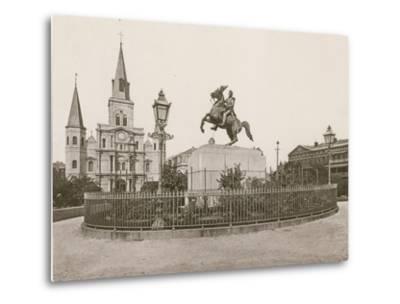 Jackson Square, New Orleans--Metal Print