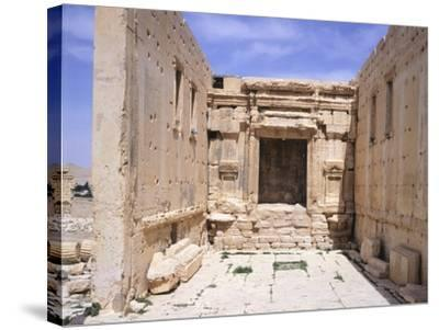 Cell of Sanctuary of Baal--Stretched Canvas Print