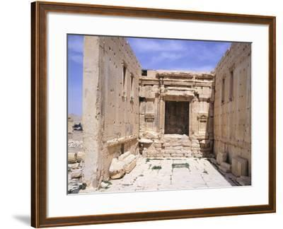 Cell of Sanctuary of Baal--Framed Photographic Print