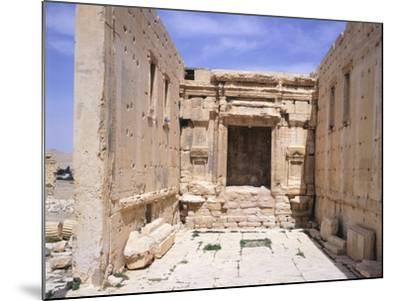 Cell of Sanctuary of Baal--Mounted Photographic Print