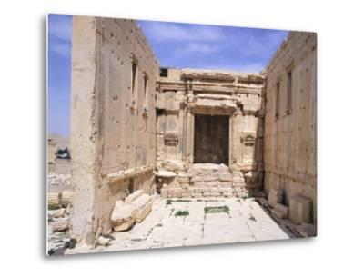 Cell of Sanctuary of Baal--Metal Print