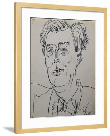 Portrait of Alban Berg--Framed Giclee Print